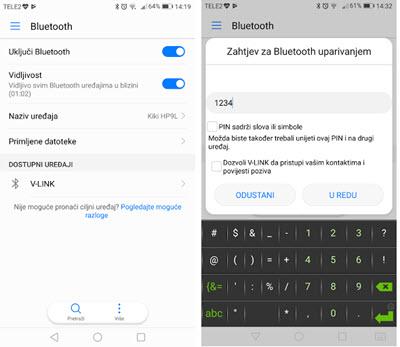 Bluetooth ELM327 podešavanje instalacija problemi