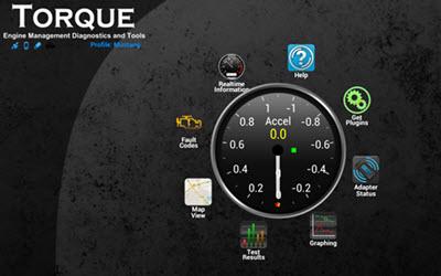 OBD aplikacije za android Torque