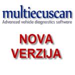 Nova verzija Multiecuscan programa za autodijagnostiku
