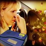 Čišćenje automobila ozonom