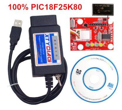 ELM327 za ForScan i Multiecuscan