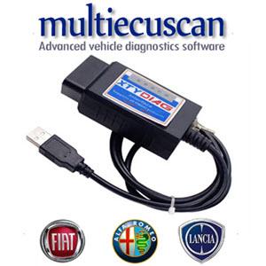 ELM327 za Multiecuscan