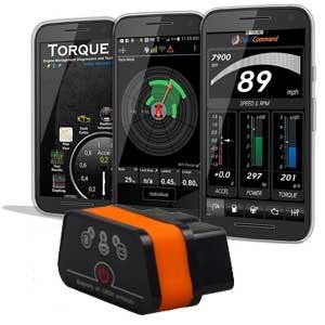 OBD2 software za pametne telefone