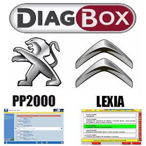 Lexia Diagbox, Peugeot Planet 2000