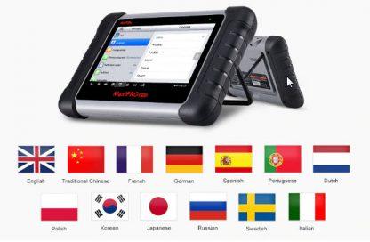Autel MaxiPRO MP808 jezici