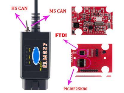 ELM327 adapter za autodijagnostiku FORD i Mazda vozila