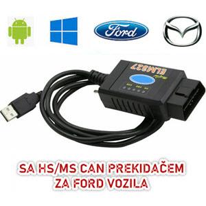 ELM327 USB za FORD/MAZDA