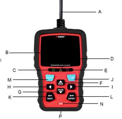 Opis i uporaba VIDENT OBDII skenera