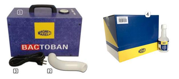 Opis Bactoban uređaja