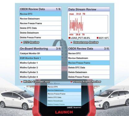 Launch creader autodijagnostika mogućnosti