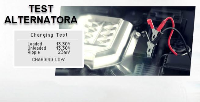 ANCEL BST100 - testiranje alternatora
