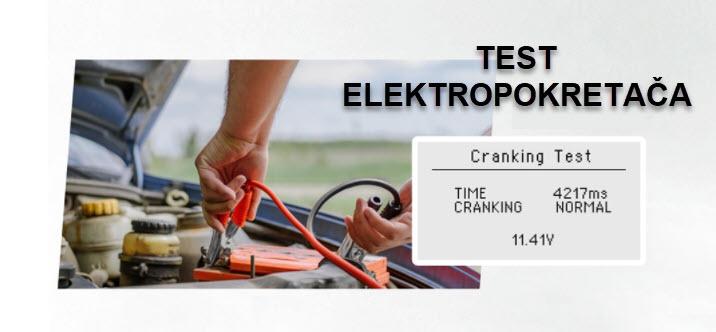 ANCEL BST100 test elektropokretača