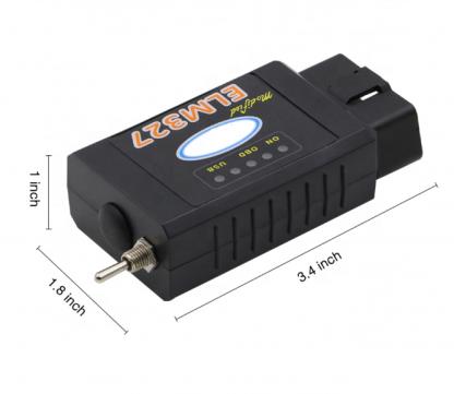 Bluetooth adapter ELM327 sa HS-CAN MS-CAN prekidačem