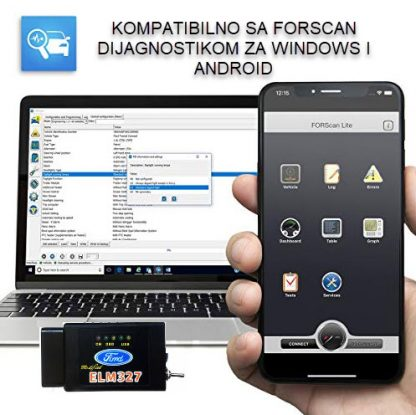 FORSCAN za windows i android