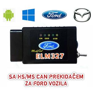 FORScan bežični bluetooth adapter ELM327