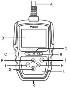 Vident V301 VAG skener