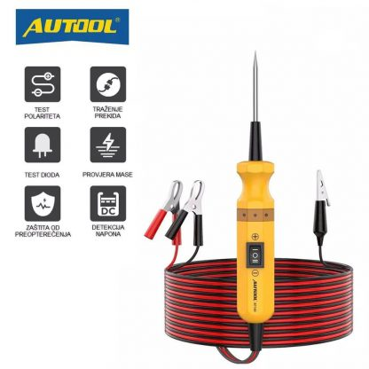 AUTOOL BT160 tester auto instalacija - mogućnosti