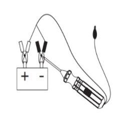 Tester auto instalacija - testiranje polariteta