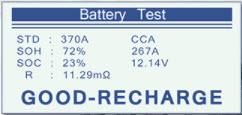 Testiranje akumulatora Konnwei KW501 3u1 testerom